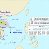 Cơn bão số 2 giật cấp 10-11 sắp tiến vào nước ta