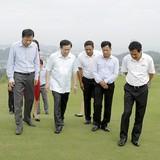 Phó Thủ tướng Vương Đình Huệ thị sát nhiều dự án tại Quảng Ninh