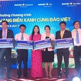 """35.000 khách hàng được Bảo Việt tri ân trong chương trình """"Nắng vàng biển xanh cùng Bảo Việt"""""""