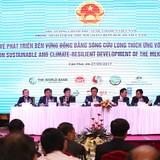 """Phó Thủ tướng: Cần sớm khắc phục vấn đề """"nhân tai"""" trong tác động tới biến đổi khí hậu"""
