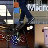 Top 5 hãng công nghệ hàng đầu Mỹ có giá hơn 3.000 tỷ USD