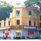 """Ông lớn McDonald's đổ bộ Hà Nội, """"ngự"""" tại đất vàng Hàng Bài?"""