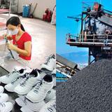 Xuất khẩu giày dép tăng gần 40%, than đá giảm 66% trong nửa cuối tháng 10/2017