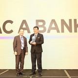 """BAC A BANK giành hai giải thưởng """"Ngân hàng tiêu biểu tư vấn đầu tư nông nghiệp công nghệ cao"""" và """"Ngân hàng vì cộng đồng 2017"""""""