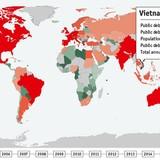 """Mỗi người dân Việt đang """"gánh"""" gần 980 USD nợ công"""
