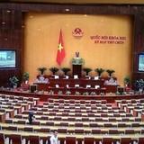 <span class='bizdaily'>BizDAILY</span> : Hi hữu, Quốc hội kết thúc sớm vì đại biểu không phát biểu