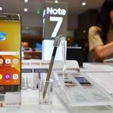 """Vụ thu hồi Galaxy Note 7: Samsung muốn cơ chế """"đặc thù"""" về thuế"""