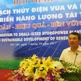 """Thứ trưởng Công Thương: """"Các nhà máy thuỷ điện điều tiết hợp lý giá điện"""""""