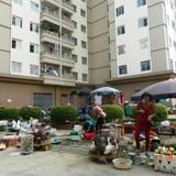 """Nhức nhối nạn chợ """"cóc"""" tại khu đô thị Pháp Vân – Tứ Hiệp"""