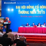 ĐHĐCĐ Sacombank: Sẽ sáp nhập SouthernBank vào Sacombank trong năm 2015?