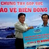 Vinamilk quyên góp thêm 1 tỷ đồng ủng hộ bảo vệ chủ quyền biển Đông