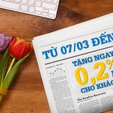 Khách hàng nữ nhận nhiều ưu đãi từ PVcomBank dịp 8/3