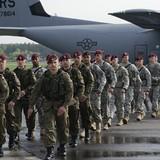 Huấn luyện viên quân sự Mỹ đã tới Ukraine