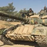 Quân đội Syria bắt đầu chiến dịch phản công quy mô ở ngoại ô Damascus