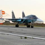 """Nga lần đầu đưa máy bay ném bom Su-34 chiến đấu ở Syria với tên lửa """"không đối không"""""""