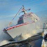 Tàu chiến mới nhất của Mỹ đã vỡ ngay sau khi rời cảng