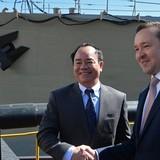 Tàu hộ vệ Gepard thứ ba chế tạo cho Hải quân Việt Nam được long trọng hạ thủy tại Tatarstan
