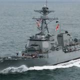 Trung Quốc nổi đóa vì tàu chiến Mỹ sáp gần Đá Chữ Thập