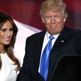 """Vợ tỷ phú Trump bị cáo buộc """"đạo"""" diễn văn"""