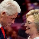 Ông Clinton ủng hộ vợ vào Nhà Trắng