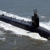 Tàu ngầm hạt nhân Mỹ va chạm với tàu tiếp vận hải quân