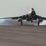 Chiến binh IS bắn hạ một máy bay của Không quân Syria