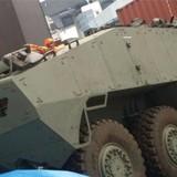 Xe tăng Singapore bị giữ ở Hong Kong