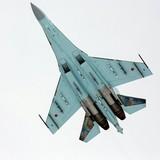 Công bố ảnh Su-27 của Nga chặn máy bay ném bom Mỹ