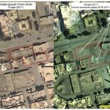 Công bố ảnh không quân Nga không kích trạm chỉ huy đầu sỏ IS