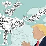 Hình ảnh về Mỹ bị thay đổi lớn vì ông Trump?