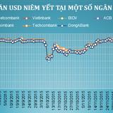 Giá USD đột ngột lao dốc mạnh