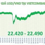 Tỷ giá trung tâm tiếp tục tăng, ngân hàng giảm mạnh giá USD