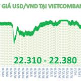 Tỷ giá trung tâm tăng, ngân hàng thương mại  giảm mạnh giá USD