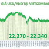 Techcombank tăng 20 đồng chiều mua vào USD