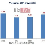 Vietnam GDP Grows 6.68% in 2015, Highest in 5-Years: Gov't