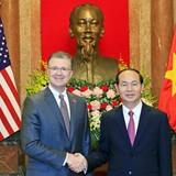 Tân Đại sứ Mỹ tại Việt Nam giới thiệu về bản thân bằng tiếng Việt