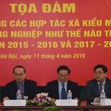 Ông Vương Đình Huệ: Cần xây dựng nghị định riêng cho hợp tác xã nông nghiệp