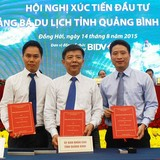 Tập đoàn FLC ký cam kết đầu tư tổ hợp 10 sân golf tại Quảng Bình