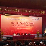 ĐHĐCĐ 2015 Vietinbank: Chính thức xin sáp nhập PGBank, tỷ lệ hoán đổi là 1:0,9