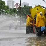 Hà Nội còn 33 điểm đen lo ngập vào mùa mưa bão