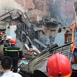 TP. HCM: Cháy lớn, 3 căn nhà bị thiêu rụi hoàn toàn