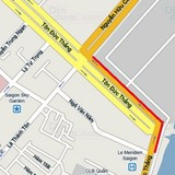 TP. HCM rào tuyến đường ở trung tâm để xây ga ngầm metro