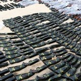 Bắt xe tải chở gần 400 khẩu súng hơi cùng ống giảm thanh
