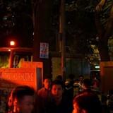Báo cháy VP5 Linh Đàm, cư dân hốt hoảng