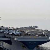 Từ tàu sân bay ở Biển Đông, bộ trưởng quốc phòng Mỹ quan ngại về Trung Quốc
