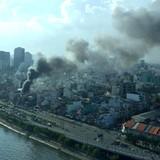 Cháy 13 căn nhà ở trung tâm Sài Gòn