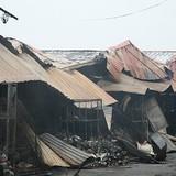Hơn 60% chủ ki-ốt vụ cháy chợ Phủ Lý không được đền bù thiệt hại