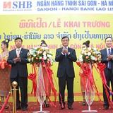 SHB chính thức khai trương ngân hàng sở hữu 100% vốn tại Lào