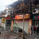 6 cửa hàng bị thiêu rụi trong đám cháy sáng mùng 4 Tết