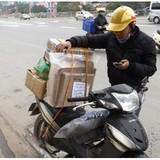 Nghề shipper: Rủi ro không thể tính trước